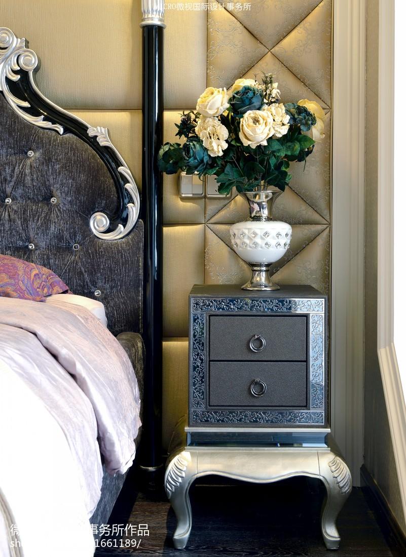 热门新古典卧室欣赏图卧室美式经典卧室设计图片赏析
