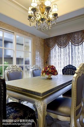 热门餐厅新古典装饰图