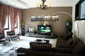 精选118平米现代别墅客厅装修欣赏图片大全