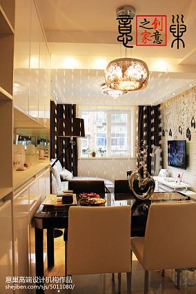 天津老房改造极致简约客厅1图现代简约设计图片赏析