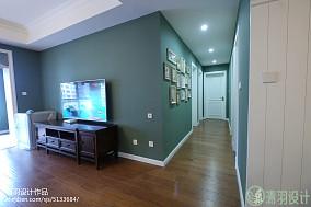 精选大小95平美式三居客厅效果图片欣赏151-200m²三居美式经典家装装修案例效果图