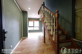 优雅82平美式三居休闲区装饰图