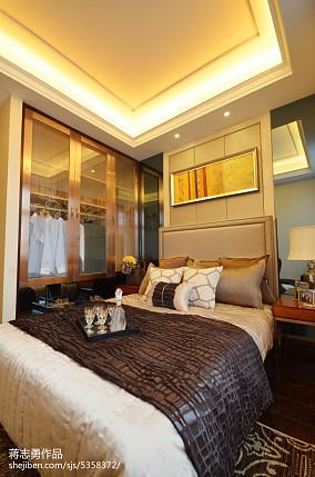 2018美式卧室装修设计效果图片大全