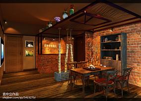 木质宜家风格家装效果图