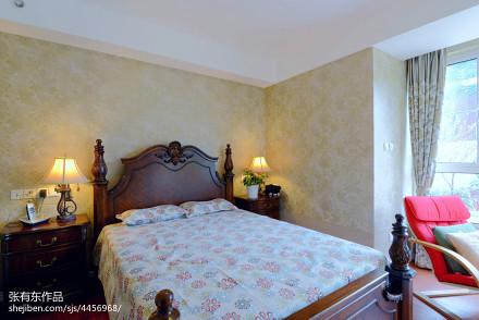 质朴440平美式别墅卧室图片欣赏