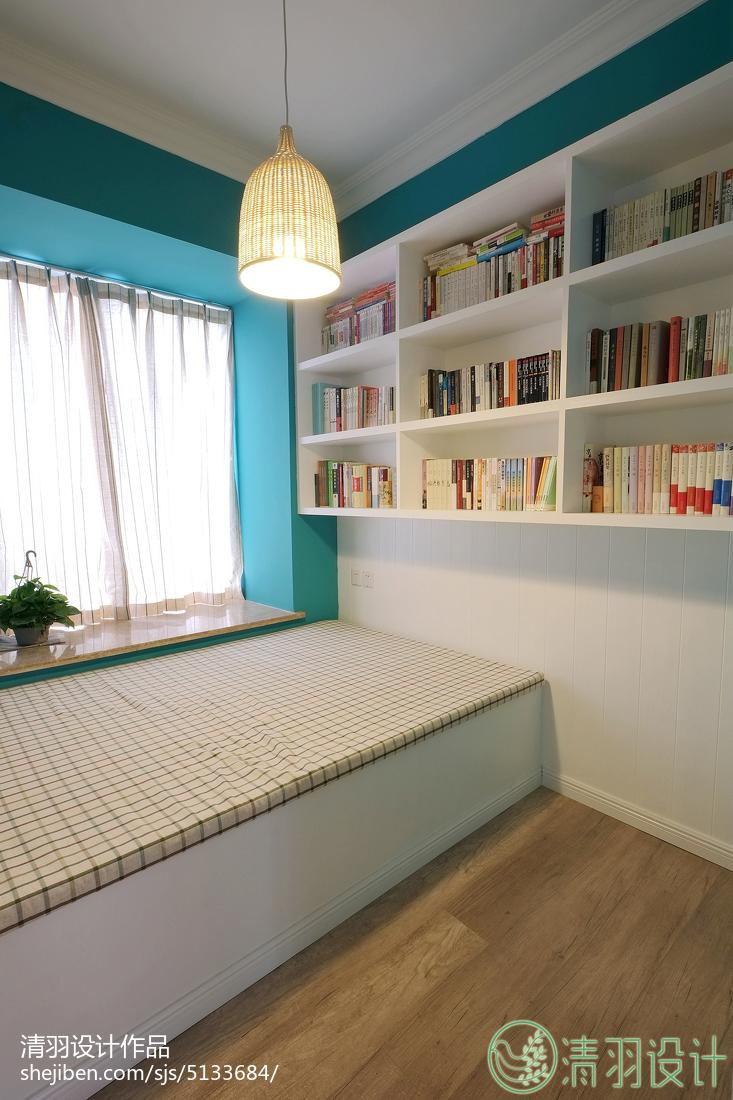 热门96平方三居卧室混搭装修设计效果图片欣赏功能区