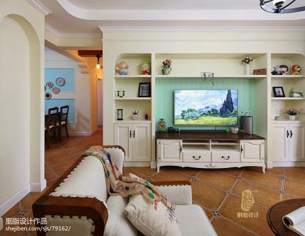 优雅122平混搭三居设计美图客厅