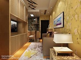 精选79平米现代小户型客厅效果图片
