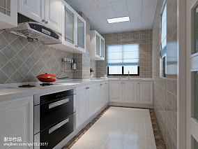 2018精选90平方三居厨房欧式装修设计效果图片大全