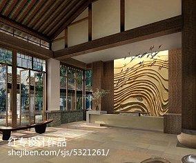 美式现代房屋外观设计图片