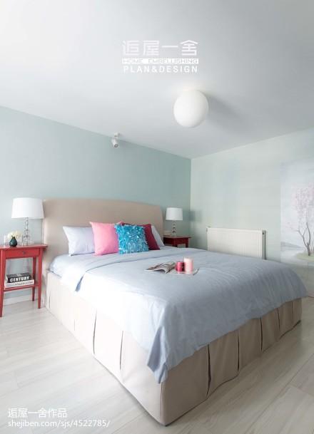 浪漫71平欧式复式卧室装修设计图