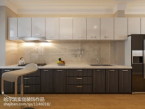 小户型厨房现代装修图片大全