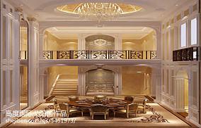 现代简约风格别墅中庭效果图