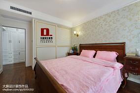 平米四居卧室美式效果图片大全卧室美式经典设计图片赏析