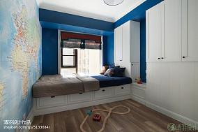 混搭风格儿童房窗台设计效果图