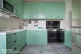 平米四居厨房混搭装修设计效果图片欣赏餐厅潮流混搭设计图片赏析