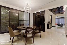 精美面积143平别墅餐厅现代欣赏图片
