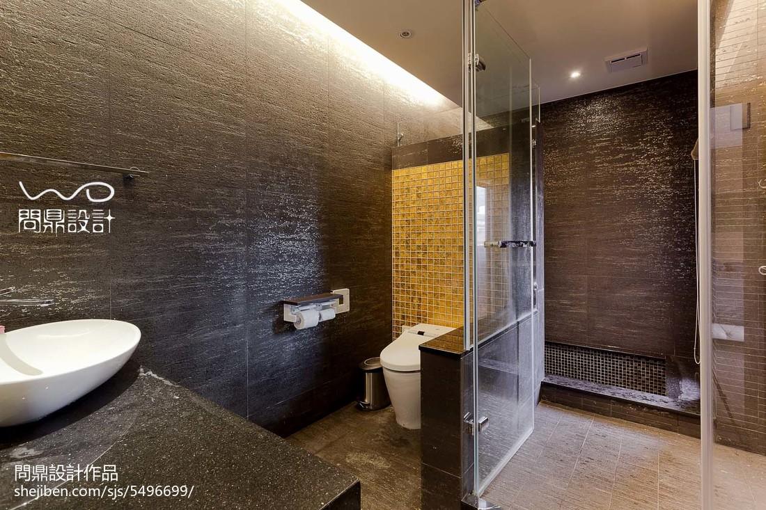 2018精选面积114平别墅卫生间现代欣赏图片卫生间现代简约卫生间设计图片赏析