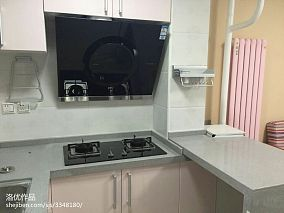 精选面积74平小户型厨房现代实景图片欣赏