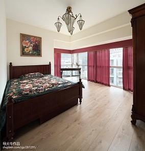 热门面积124平别墅卧室新古典装修设计效果图