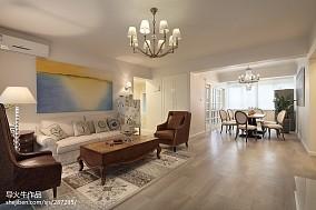 简约美式客厅装修图欣赏