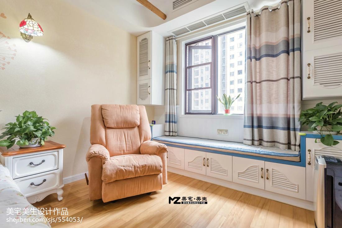 地中海风格窗台装修图片大全欣赏卧室1图地中海卧室设计图片赏析