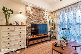 2018二居混搭装饰图87平61-80m²二居潮流混搭家装装修案例效果图