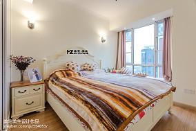 2018精选85平米二居卧室混搭欣赏图片大全61-80m²二居潮流混搭家装装修案例效果图