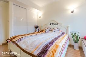 二居室混搭风格卧室衣柜装修图片61-80m²二居潮流混搭家装装修案例效果图