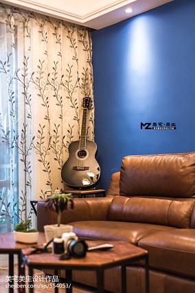 热门81平二居混搭装修设计效果图片61-80m²二居潮流混搭家装装修案例效果图