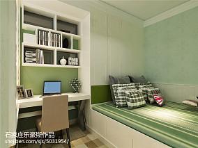 精美83平米二居卧室美式装修设计效果图