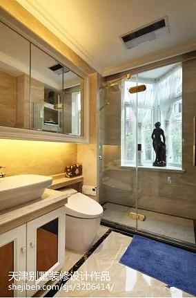 精美面积130平别墅卫生间新古典装修设计效果图
