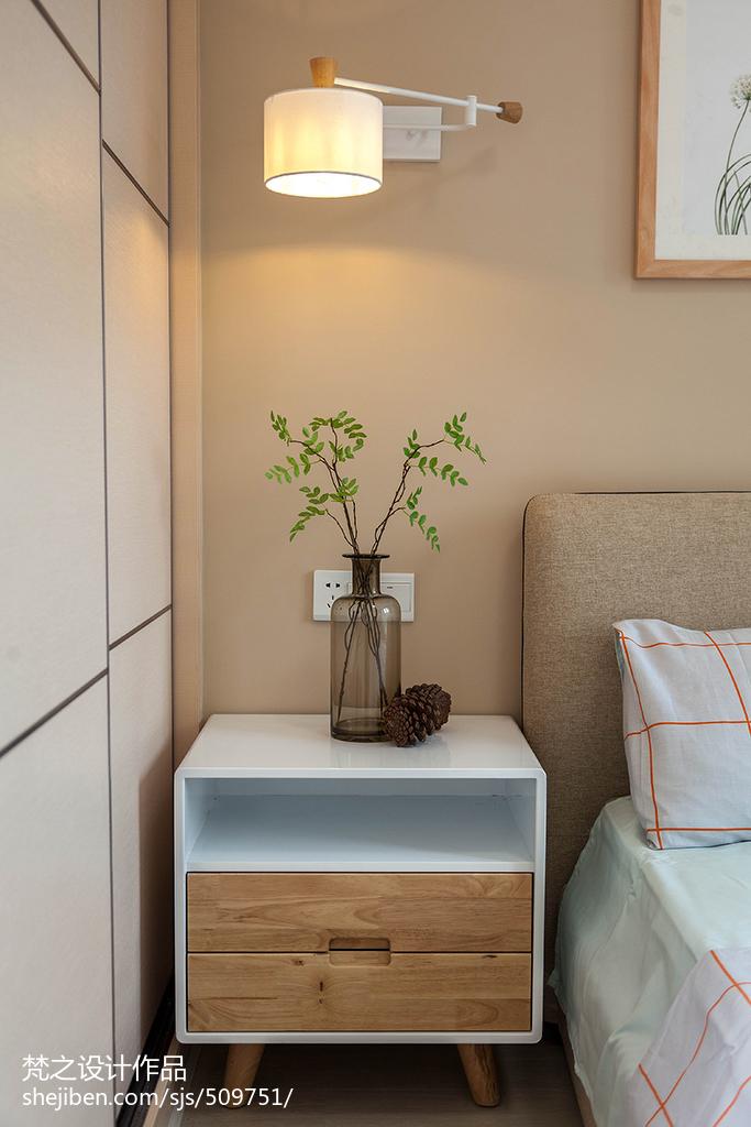 精选面积94平混搭三居卧室装修实景图片卧室