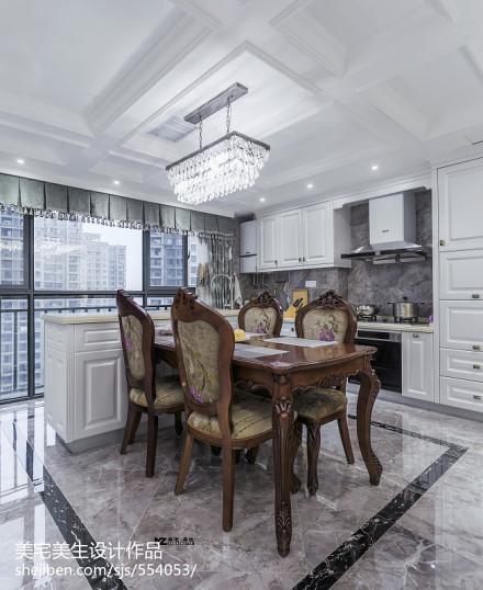 精美欧式二居餐厅装修图片厨房