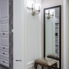 2018精选79平米二居玄关欧式装修效果图片大全