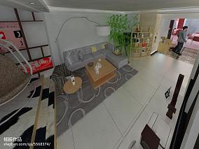 201887平米二居客厅现代实景图片欣赏