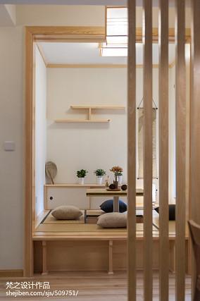 面积106平中式三居休闲区装修欣赏图片