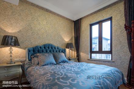 大气485平新古典别墅装潢图卧室