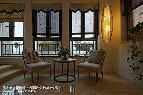 热门面积111平混搭四居阳台装修设计效果图片欣赏
