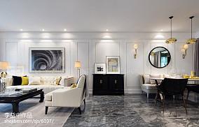 现代风格过道装饰效果图片样板间现代简约家装装修案例效果图