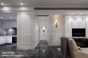 现代风格过道设计效果图片样板间现代简约家装装修案例效果图