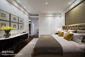 现代风格卧室装饰效果图片样板间现代简约家装装修案例效果图