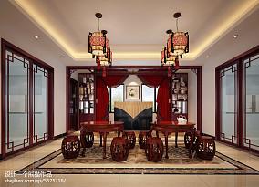 中式浴室柜效果图
