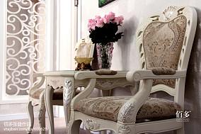 热门面积104平欧式三居客厅装修实景图片欣赏