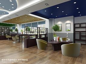 美式现代家装吧台设计图