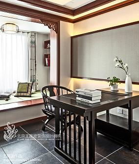 热门面积73平混搭二居书房装修图片