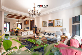清风徐来客厅美式经典设计图片赏析