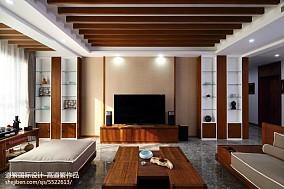 2018精选118平米四居客厅东南亚装修设计效果图片大全
