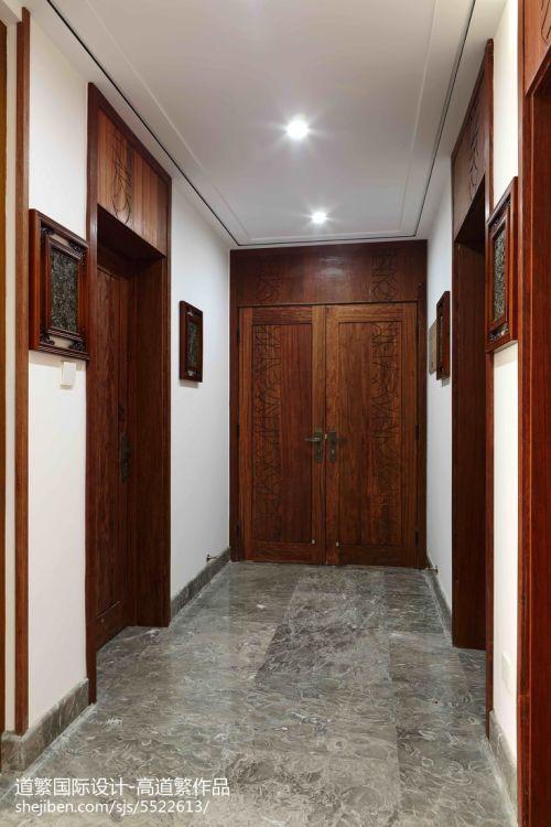 平米四居玄关东南亚装修设计效果图片欣赏玄关门1图