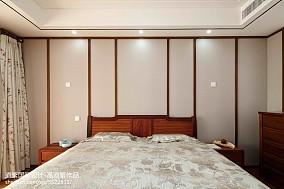 热门面积117平东南亚四居卧室装饰图